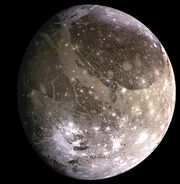 Ganymede, moon of Jupiter, NASA