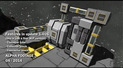 Space Engineers - Conveyor, Collector, Connector
