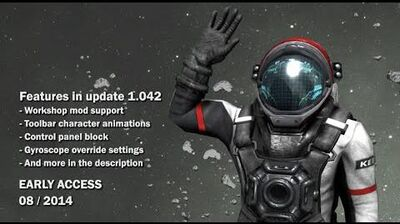 Space Engineers - Workshop modding integration, character animations, gyro override