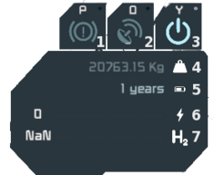 HUD part - ship