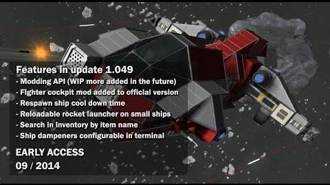 Space Engineers - Modding API, Fighter cockpit
