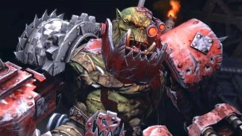 Orc Warboss Grimskull (Warhammer 40k Space Marine) Full HD