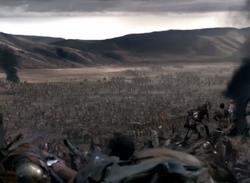 Rebles battle the Romans