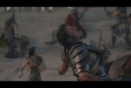 Agron wounded