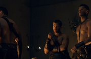 Spartacus, Agron, and Crixus-Vengence
