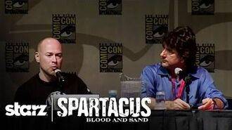 Spartacus Blood and Sand - San Diego Comic-Con 2009 Panel STARZ-0