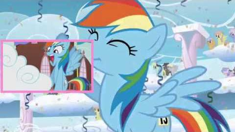 PONIES WARNING THE VERY BEST RAINBOW DASH SPARTA REMIX IN ALL OF EQUESTRIA