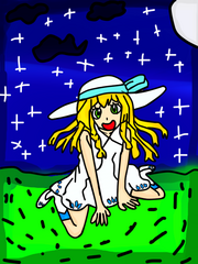 Lillie in the night