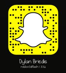 Dylan's Snapchat code