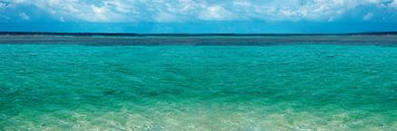 Main shallow seas