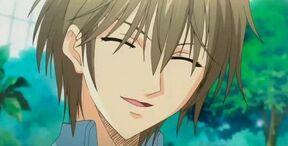 Kei smiling