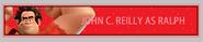 John c reilly as wreck-it ralph fan button