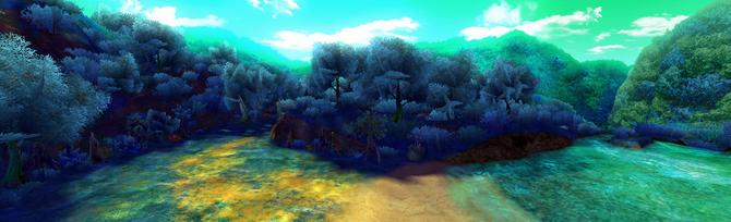 Serenity Woods Panorama