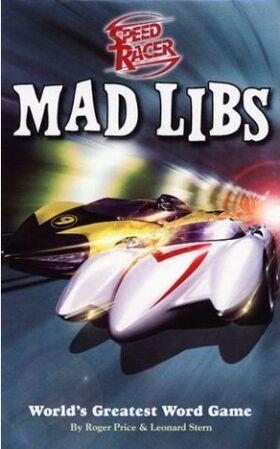 SpeedRacerMadLibs