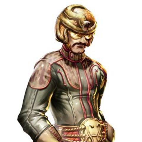 Snake Oiler in the game.