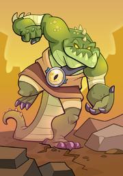 Desert Lizard Demon A