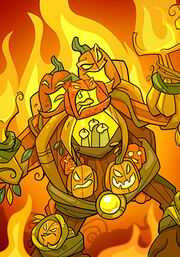 Burning Golem C