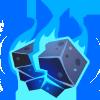 Heart of blue fire
