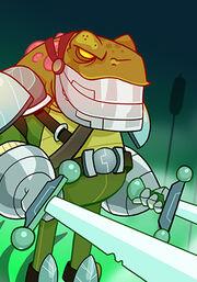 Frog Warrior C