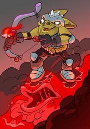 Goblin Elemental Surfer B