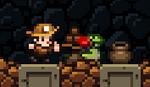 Spelunkyclassic monsterinpot