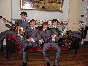 The Beatles wax dummes