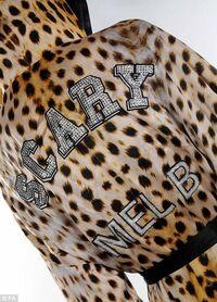 Mel B Roberto Cavalli boxer outfit