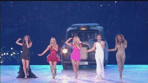 Closing Ceremony - Spice Girls - London 2012 Olympic Games Highlights-1