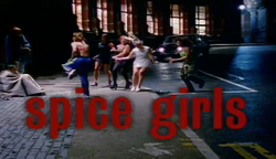 Spice Girls in Wannabe music video