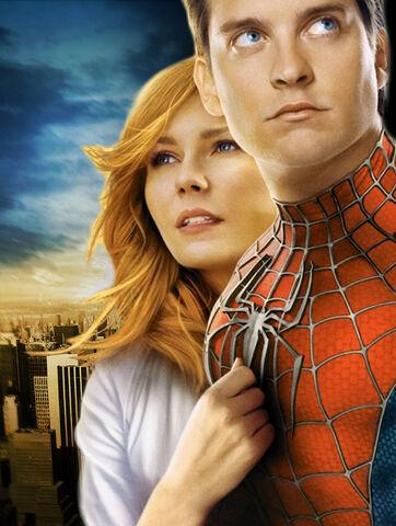 File:Promotional art of Kirsten Dunst & Tobey Maguire in Spider-Man 4 (2011).jpg