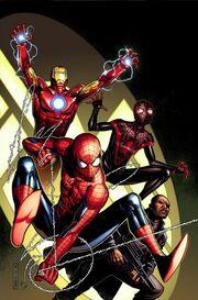 Spider-Men Vol 1 5 Textless