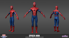MARVEL HEROES SPIDER-MAN