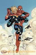 Spider-Man & Captain Marvel