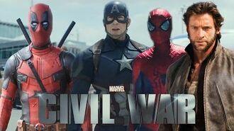 Marvel Civil War Teaser (FanMade)