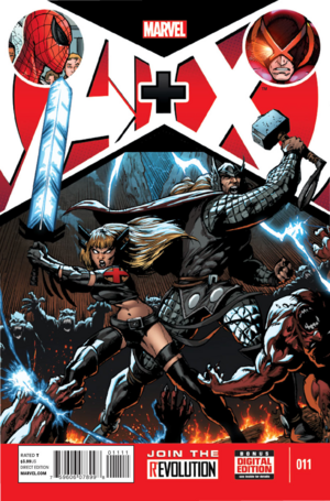 A + X Vol. 1 -11
