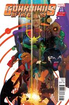 Guardians of the Galaxy Vol. 4 -15 Story Thus Far Variant