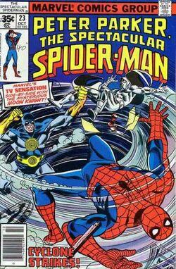 Peter Parker, The Spectacular Spider-Man Vol 1 23
