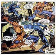 Spiderman punisher