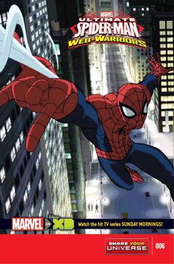 Marvel Universe Ultimate Spider-Man Web Warriors Vol. 1 -6