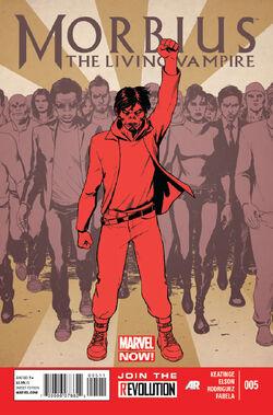 Morbius The Living Vampire Vol. 2 -5