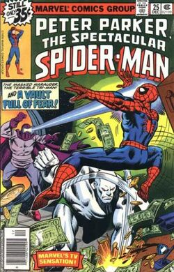 Peter Parker, The Spectacular Spider-Man Vol 1 25