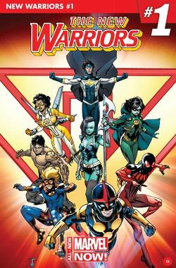 New Warriors Vol. 5 -1