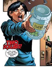 Aracely swear jar
