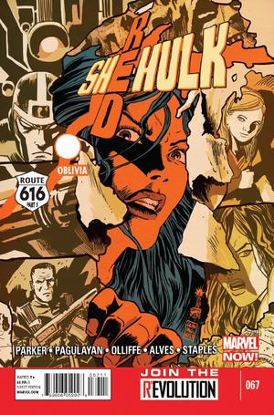 Red She-Hulk Vol. 1 -67