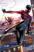 Miles returns to being Spider-Man