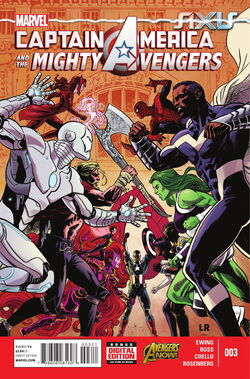 Captain America and the Mighty Avengers Vol. 1 -3