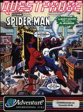 Questprobe Spider-Man box cover