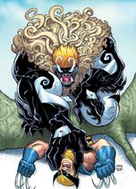 All-New Wolverine Vol. 1 -24 Venomized Sabretooth Variant Textless