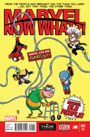 Marvel NOW WHAT Vol. 1 -1