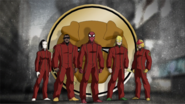 The S.H.I.E.L.D. Trainees as members of Damage Control